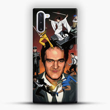 Load image into Gallery viewer, Written And Directed By Quentin Tarantino Character Samsung Galaxy Note 10 Case, Snap 3D Case | JoeYellow.com