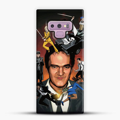 Written And Directed By Quentin Tarantino Character Samsung Galaxy Note 9 Case, Snap 3D Case | JoeYellow.com