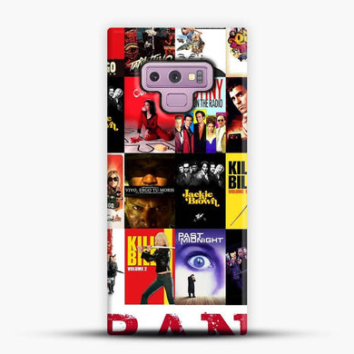 Written And Directed By Quentin Tarantino Flimography Samsung Galaxy Note 9 Case, Snap 3D Case | JoeYellow.com