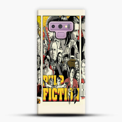 Written And Directed By Quentin Tarantino Pulp Fiction Samsung Galaxy Note 9 Case, Snap 3D Case | JoeYellow.com