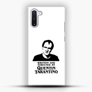 Written And Directed By Quentin Tarantino Shioulette Samsung Galaxy Note 10 Case, Snap 3D Case | JoeYellow.com