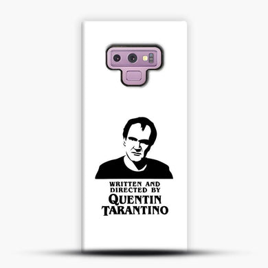 Written And Directed By Quentin Tarantino Shioulette Samsung Galaxy Note 9 Case, Snap 3D Case | JoeYellow.com