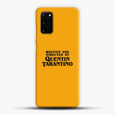 Written And Directed By Tarantino Samsung Galaxy S20 Case, Snap 3D Case | JoeYellow.com