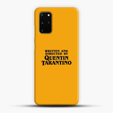 Written And Directed By Tarantino Samsung Galaxy S20 Plus Case, Snap 3D Case | JoeYellow.com