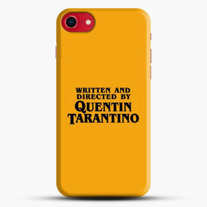 Written And Directed By Tarantino iPhone SE 2020 Case, Snap 3D Case | JoeYellow.com