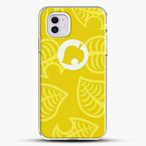 Yellow Nook Phone Inspired iPhone 11 Case, White Plastic Case | JoeYellow.com