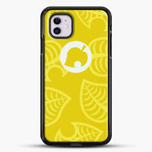 Load image into Gallery viewer, Yellow Nook Phone Inspired iPhone 11 Case, Black Rubber Case | JoeYellow.com
