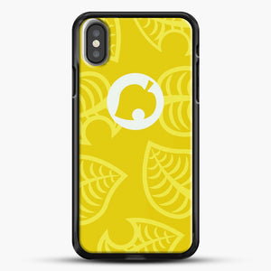 Yellow Nook Phone Inspired iPhone X Case, Black Rubber Case | JoeYellow.com