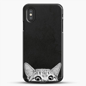 You Asleep Yet iPhone XS Case, Black Plastic Case | JoeYellow.com
