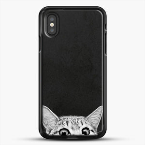 You Asleep Yet iPhone XS Case, Black Rubber Case | JoeYellow.com
