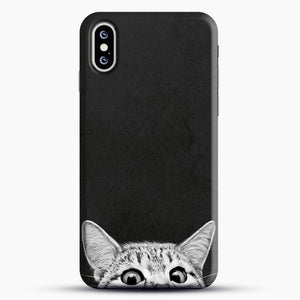 You Asleep Yet iPhone XS Case, Black Snap 3D Case | JoeYellow.com