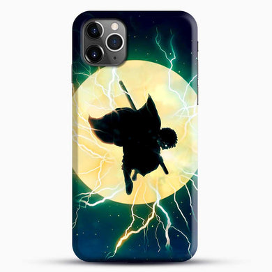 Zenitsu Agatsuma Demon Slayer Art iPhone 11 Pro Max Case, Black Snap 3D Case | JoeYellow.com