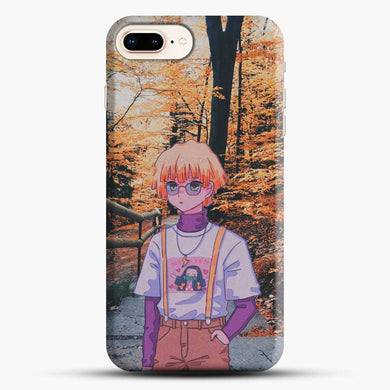 Zenitsu Agatsuma In The Forest iPhone 8 Plus Case, Black Snap 3D Case | JoeYellow.com