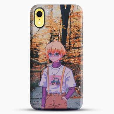 Zenitsu Agatsuma In The Forest iPhone XR Case, Black Snap 3D Case | JoeYellow.com