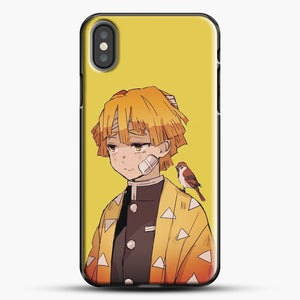 Zenitsu Agatsuma iPhone X Case, Black Plastic Case | JoeYellow.com