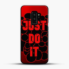 Load image into Gallery viewer, just do it red Samsung Galaxy S9 Plus Case