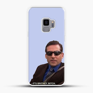 Michael Scott The Officeits Britney Bitch Samsung Galaxy S9 Case