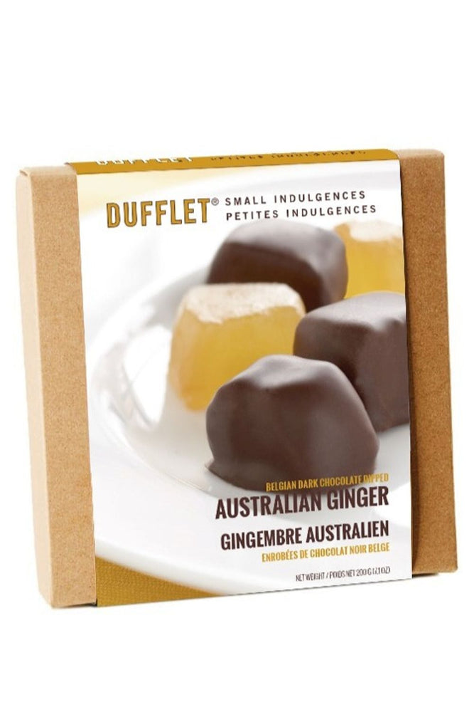 Dark Chocolate Dipped Ginger