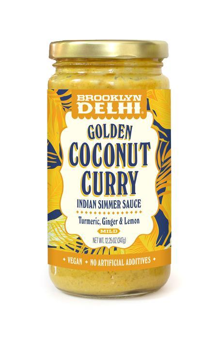 Golden Coconut Curry Sauce