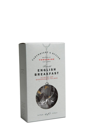 English Breakfast Pyramid Bags in Carton