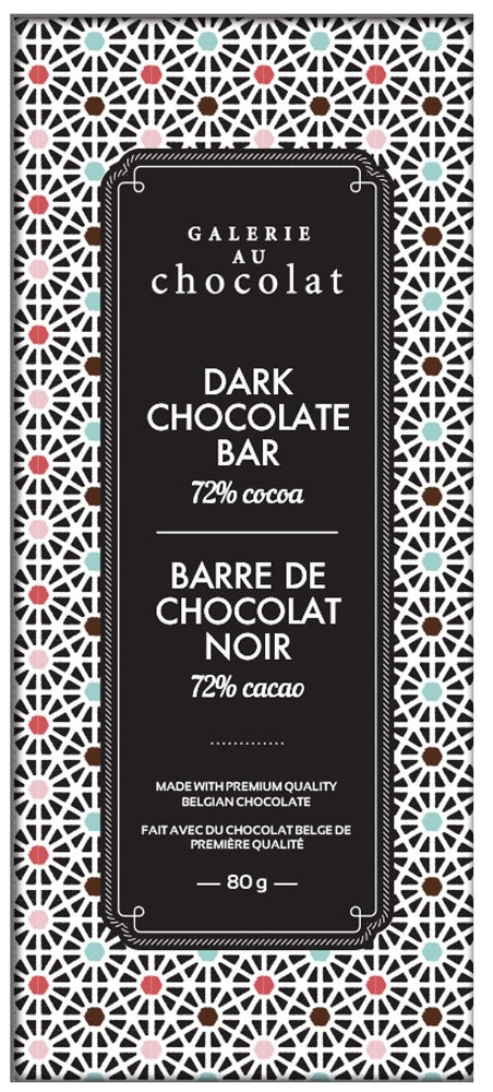 Load image into Gallery viewer, Dark Chocolate 72% Cacao Bar