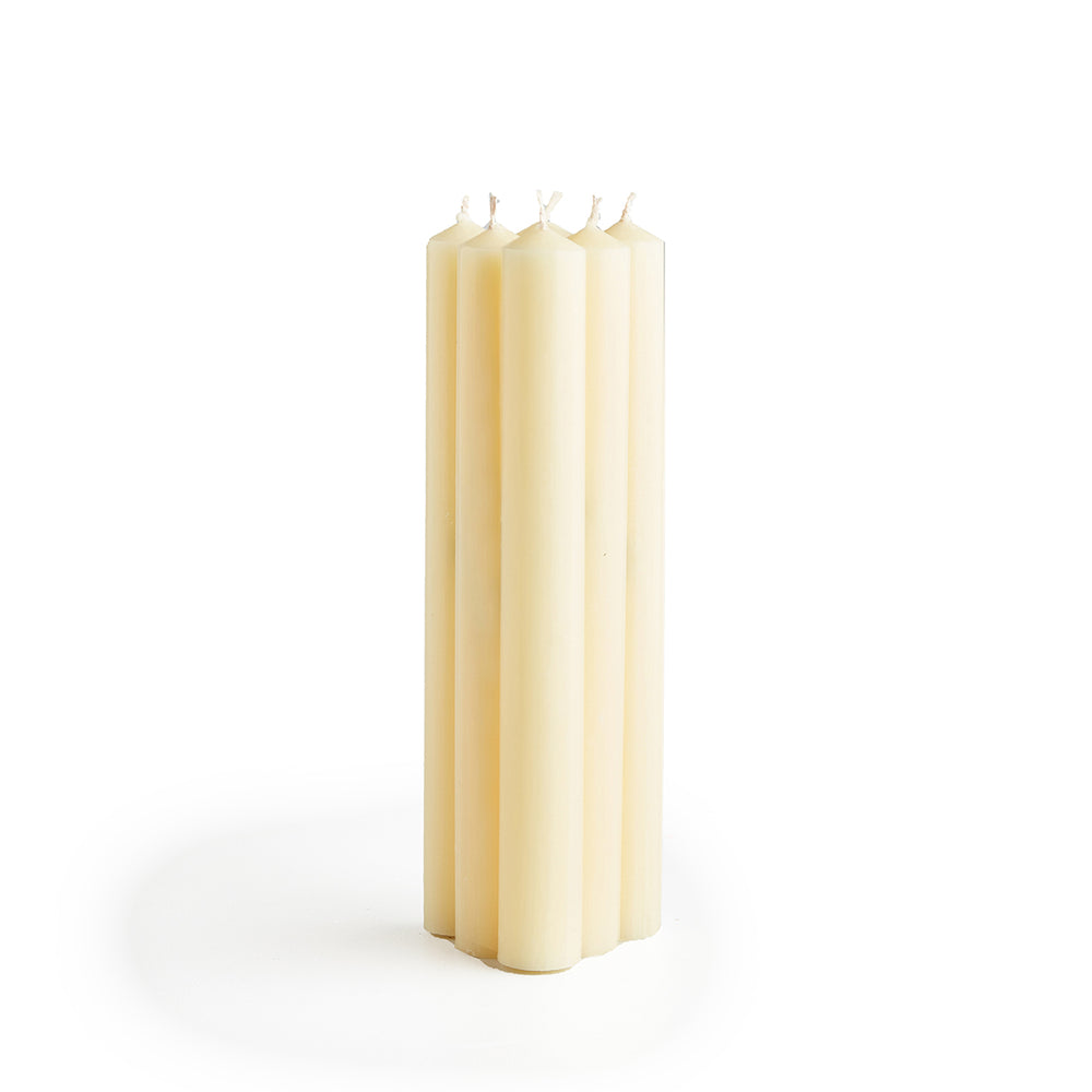 St. Eval Taper Candles - Ivory