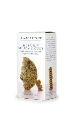 British Stilton Biscuits