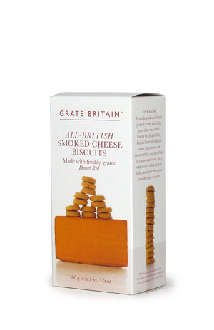 British Smoked Cheese Biscuits
