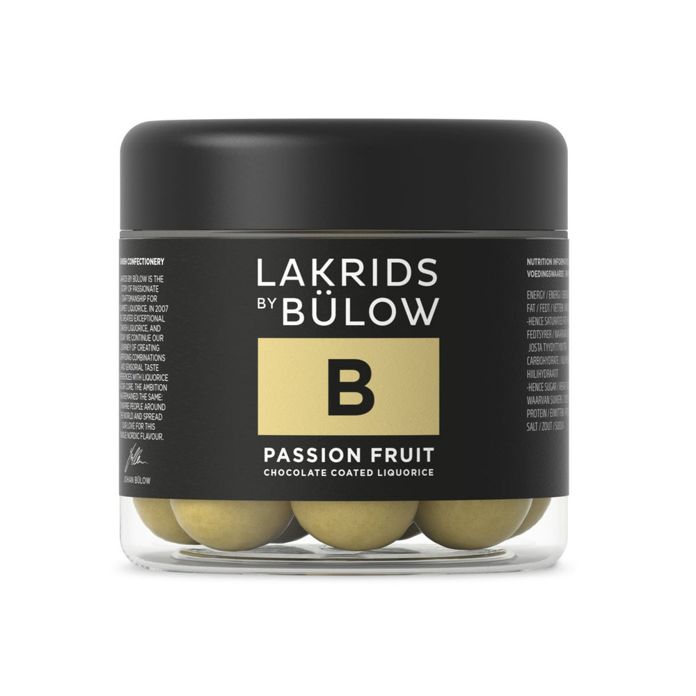 B-Passion Fruit & Chocolate Coated Liquorice