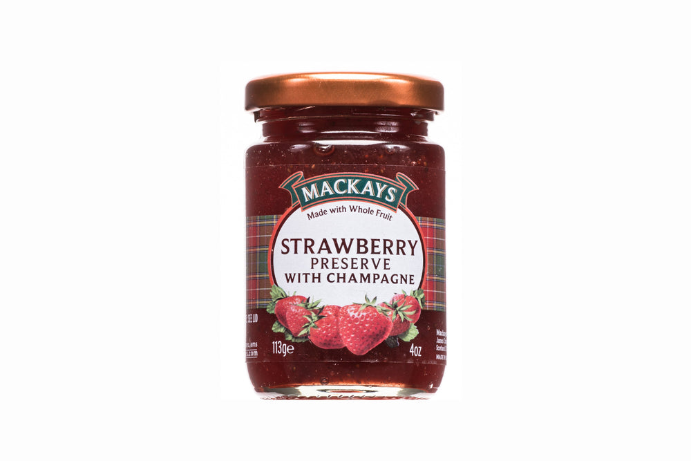 Strawberry Preserve with Champagne