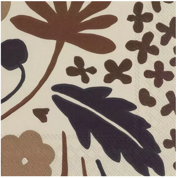 Load image into Gallery viewer, Marimekko Napkins - Suvi Brown