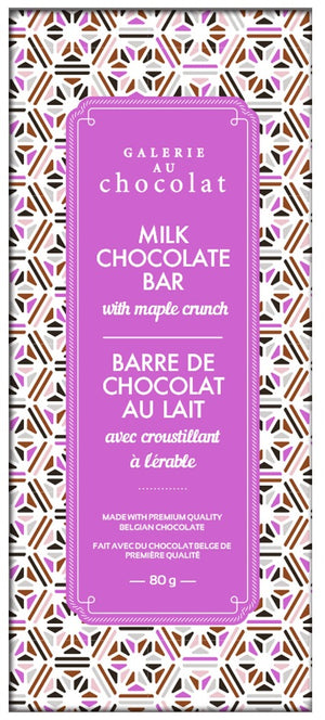 Load image into Gallery viewer, Milk Chocolate Maple Crunch Bar