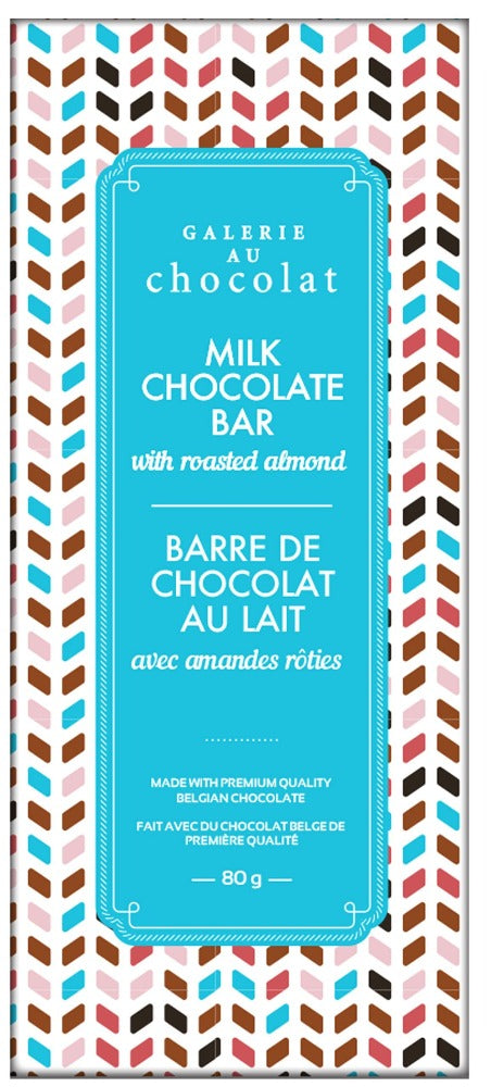 Load image into Gallery viewer, Milk Chocolate Roasted Almonds Bar