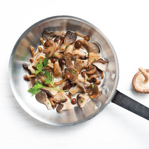 Load image into Gallery viewer, Mushroom Fricassee With Parsley Cream