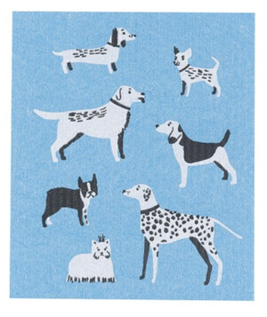 Swedish Dish Cloth - City Dogs