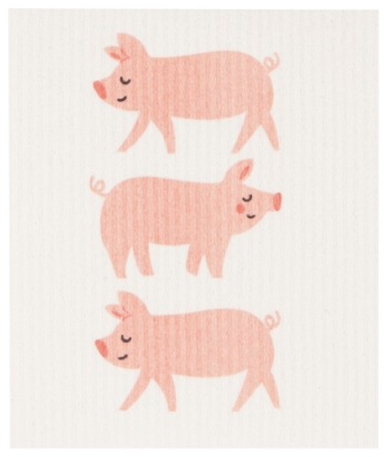 Load image into Gallery viewer, Swedish Dish Cloth - Pig Out