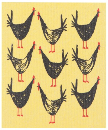 Load image into Gallery viewer, Swedish Dish Cloth - Chicken Scratch