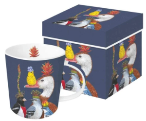 Willie the Warbler & Guests Boxed Mug