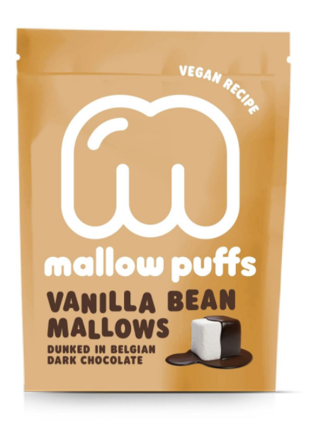 Vanilla Bean & Dark Chocolate Mallow Puffs - Vegan Recipe
