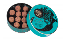 Load image into Gallery viewer, Willie's Cacao Single Estate Milk Chocolate Truffles with Sea Salt