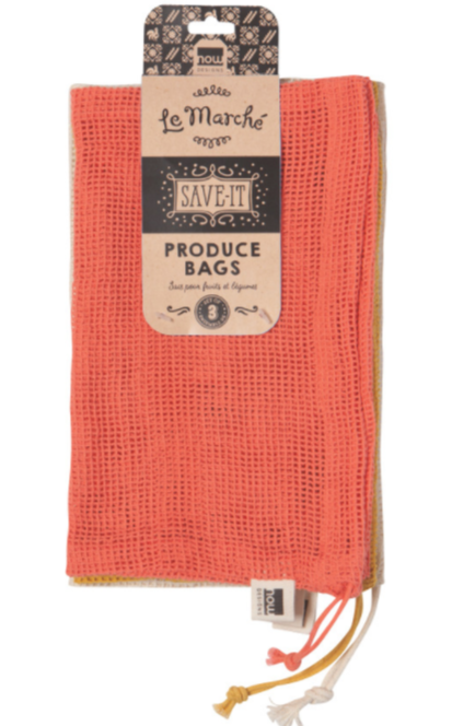 Produce Bags (set of 3) - Choral