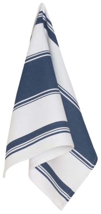 Symmetry Dishtowel - Indigo