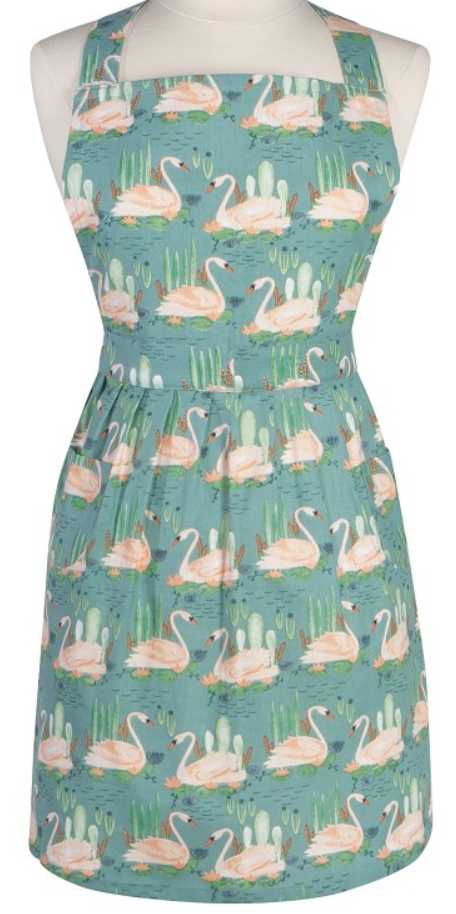 Load image into Gallery viewer, Classic Apron - Swan Lake