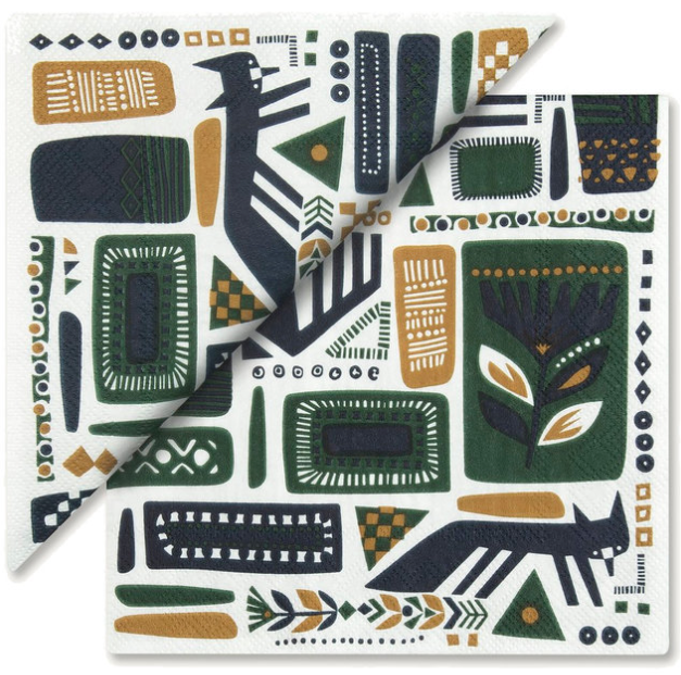 Load image into Gallery viewer, Marimekko Napkins - Svaale White