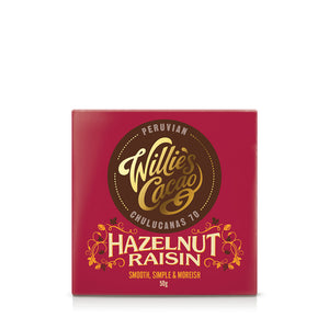 Hazelnut Raisin Bar