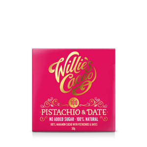 Pistachio & Date 100% No Added Sugar Bar