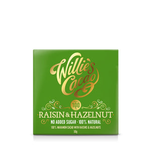 Raisin & Hazelnut 100% No Added Sugar Bar
