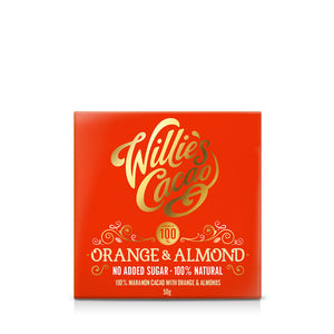 Orange & Almond 100% No Added Sugar Bar
