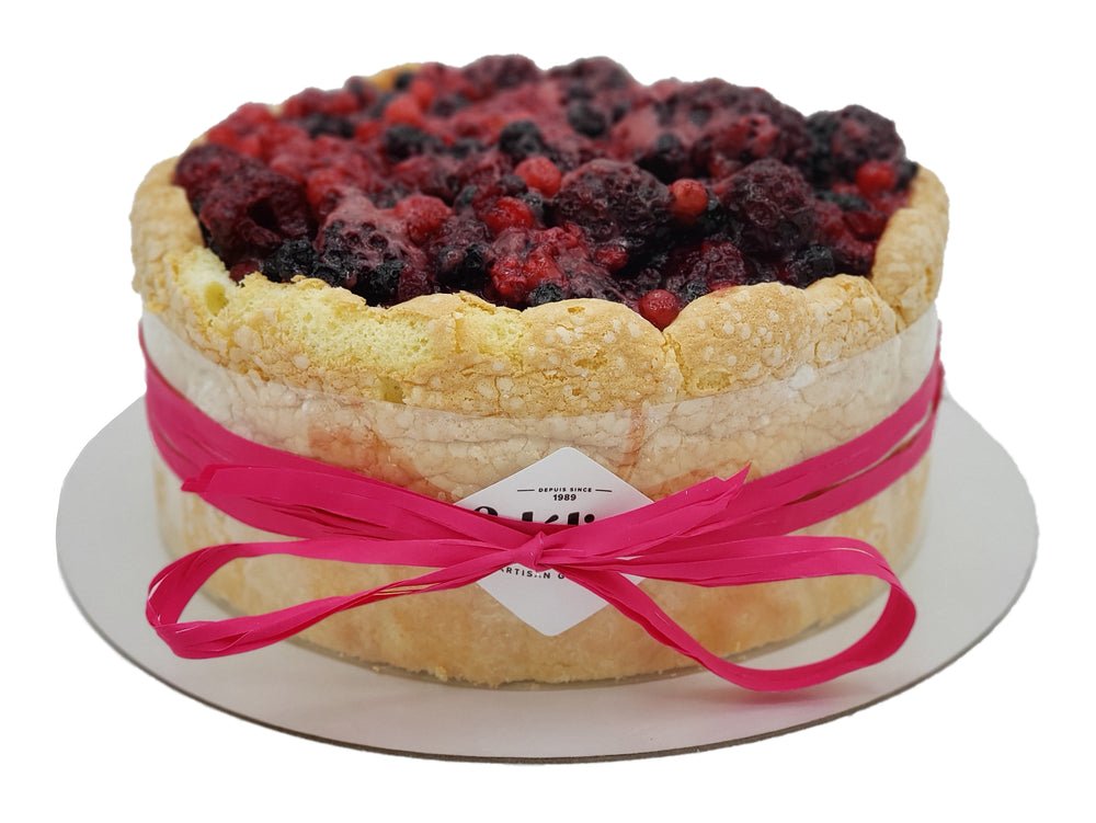 Load image into Gallery viewer, Wild Berry Charlotte Cake