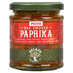 Oak Smoked Paprika Pesto